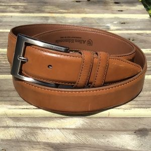 Allen Edmonds Light Brown Leather Belt L 90/36